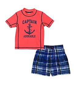 Carter's® Baby Boys Captain Adorable Rashguard Set