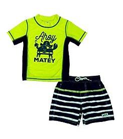 Carter's® Baby Boys Ahoy Matey Rashguard Set