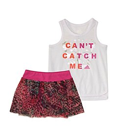 adidas® Baby Girls' Can't Catch Me Skort Set
