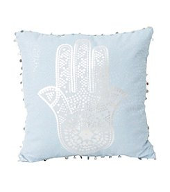 Hadwin Hamsa Hand Decorative Pillow