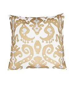 Ina Ikat Metallic Decorative Pillow