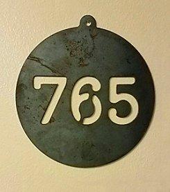 Pittman Design & Fabrication 765 Wall Sign