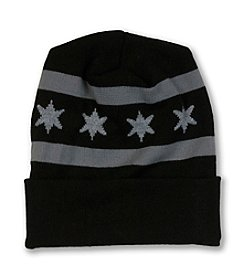 Transit Tees Chicago Flag Beanie