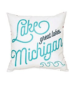Tandem for Two Lake Michigan Pride Pillow