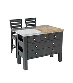 Canadel Gourmet Kitchen Island & Stool