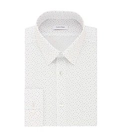 Calvin Klein Men's Word Search Slim Fit Non Iron Dress Shirt