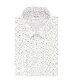 Calvin Klein Men's Word Search Slim Fit Non Iron Dress Shirt