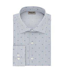 REACTION Kenneth Cole Men's Crystal Print Slim Fit Dress Shirt