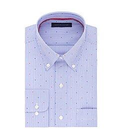Tommy Hilfiger® Men's Stripe Dot Regular Fit Dress Shirt