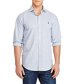 Polo Ralph Lauren® Men's Big & Tall Checked Poplin Shirt