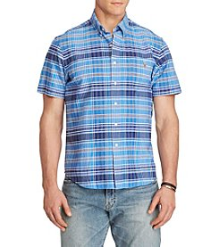 Polo Ralph Lauren® Men's Big & Tall Plaid Oxford Shirt