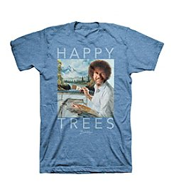 Bravado Men's Bob Happy Trees Graphic Tee