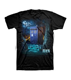 Bravado Men's Dr. Who Forest Graphic Tee