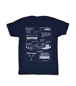 Bravado Men's Back To The Future Car Graphic Tee