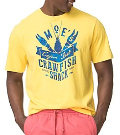 Chaps® Men's Big & Tall Cotton Jersey Moe's Crawfish Shack Graphic Tee