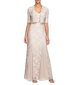 Alex Evenings® Long Jacket Dress