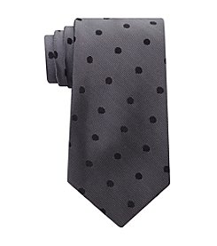 Calvin Klein Satin Sheen Mini Dot Tie