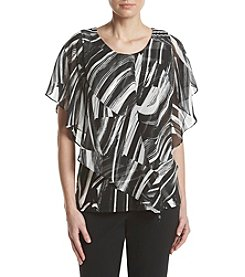 Studio Works® Printed Overlay Top