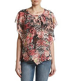 Studio Works® Printed Poncho Top