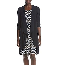 R&M Richards® Petites' Jacket Dress