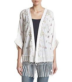Philosophy by Republic Clothing Kimono Embroidered Jacket