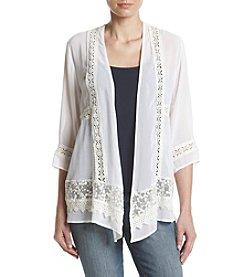 Penelope Rose™ Chiffon Lace Kimono