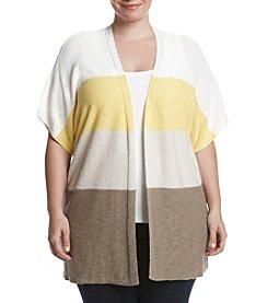 Jones New York® Plus Size Colorblocked Cardigan