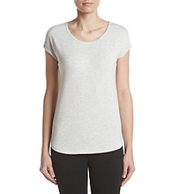 Calvin Klein Performance Keyhole Split Back Tee