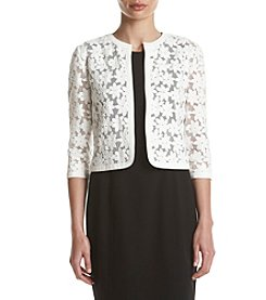Anne Klein® April Laser Cut Cardigan