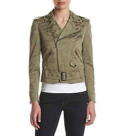 Anne Klein® Camouflage Goddard Jacket