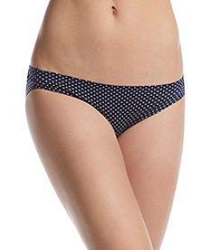 Maidenform® Navy Dot Bikini Panty