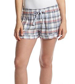 Tommy Hilfiger® Red/Navy Plaid Shorts