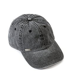 Steve Madden Black Stone Washed Baseball Hat