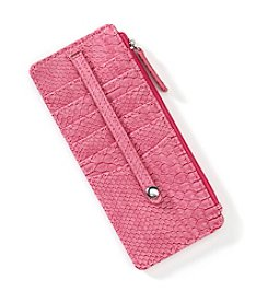 Relativity® Snake Embossed Wallet