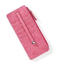 Relativity® Snake Embossed Wallet