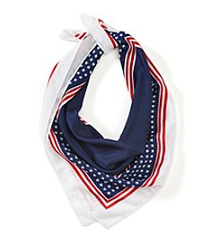 Collection 18 Stars And Stripes Square Bandana
