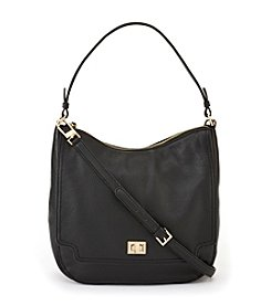 Calvin Klein Black Ashley Pebble Hobo