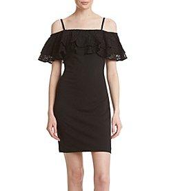 Jessica Simpson Lace Off-Shoulder Dress