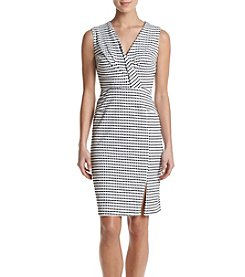 Adrianna Papell® Gingham Sheath Dress