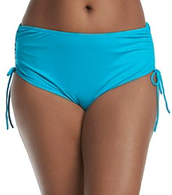 Beach House® Solids High Waist Side Tie Bottoms