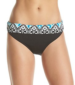 Kenneth Cole® Printed Waist Bottoms