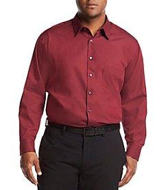 Geoffrey Beene Men's Big & Tall Long Sleeve Dobby Shirt