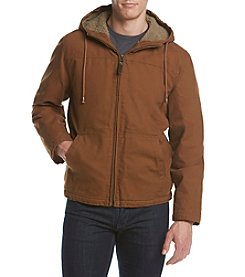Ruff Hewn Men's Sherpa Hooded Jacket