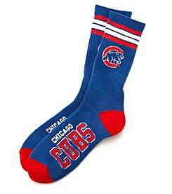 For Bare Feet MLB® Men's Chicago Cubs World Series Stripe Socks