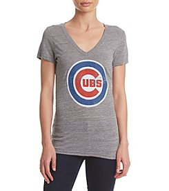 G III Queen Chicago Cubs Women's Slub Jersey Shirt