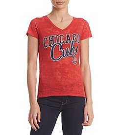 G III Queen Chicago Cubs Womens All Star Short Sleeve Shirt