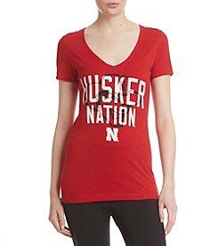 adidas® NCAA® Nebraska Cornhusker Women's Mascot Shirt