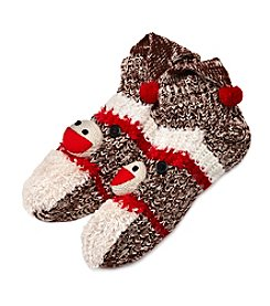 Legale® Stocking Cap Monkey Slipper Socks