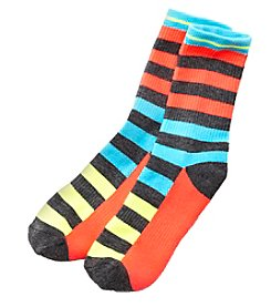 High Point Striped Happiness Socks