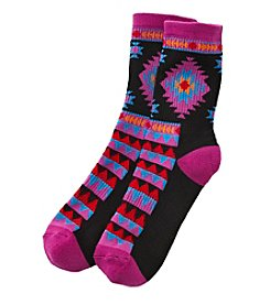 High Point Southwest Print Inner Happiness Socks